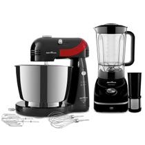Kit Cozinha Britânia Inox Red Selection BKT40P -