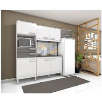 Kit Cozinha Compacta 7 Portas e 2 Gavetas Briz -