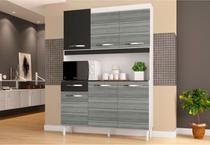 Kit Cozinha Compacta Carine 06 Portas - Poquema -