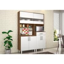 Kit Cozinha Compacta Carol Terraro/Branco - MoveMax -