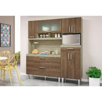 Kit Cozinha Compacta Luiza Carvalho/Terraro - MoveMax -