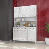 Kit Cozinha Compacta Star Telasul 6 Portas 3 Gavetas -