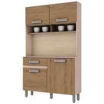 Kit Cozinha Compacta Tampo 4 Portas B109 BRIZ -