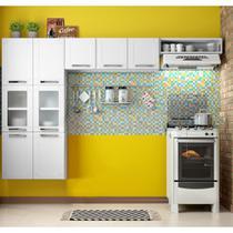 Kit Cozinha CZM03 com Paneleiro 6 Portas, Armário e Nicho Multipla - Bertolini