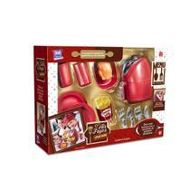 Kit cozinha de brinquedo air fryer chef kids menino menina com acessorios divertidos - Zuca Toys