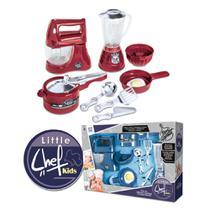Kit Cozinha de Brinquedo Batedeira Chef Kids - Zuca Toys