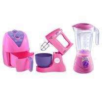 Kit Cozinha Eletrodomésticos - Batedeira, Liquidificador E Air Fryer - Altimar -