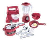 Kit Cozinha Infantil Chefe Kids Master Chef - Zuca Toys