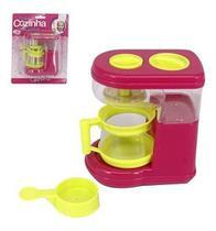 Kit Cozinha Infantil Com Cafeteira A Friccao Minha Cozinha Dos Sonhos Na Cartela - Wellmix