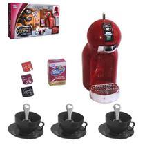 Kit Cozinha Infantil com Cafeteira e Acessórios 14 Peças - Ref. 5311 - Zuca Toys