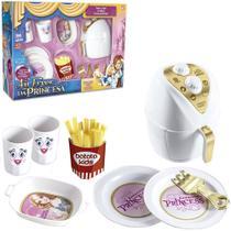 Kit cozinha infantil com fritadeira + batata frita acessorios air fryer da princesa 11 pecas - ZUCA TOYS