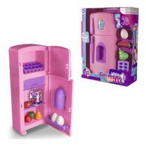 Kit Cozinha Infantil Com Geladeira + Copo E Acessorios Minha - Oem -