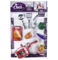 Kit Cozinha Infantil Com Panela De Pressao + Utensilios Meta - Zuca Toys