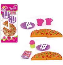 Kit Cozinha Infantil Com Pizza E Acessorios Glam Girls Sortidos Na Cartela Wellkids - Wellmix