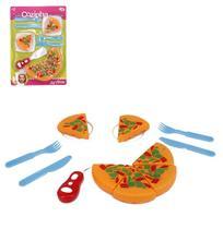 Kit Cozinha Infantil Com Pizza E Acessorios Minha Cozinha - Oem