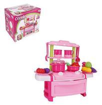Kit Cozinha Infantil Fogao E Acessorios Com Som E Luz Minha Cozinha Dos Sonhos Wellkids - Wellmix