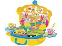 Kit Cozinha Infantil Maleta Móvel Mini Chef  - Dican