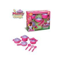 Kit Cozinha Infantil Panelinha Acessórios Mamy Cook Silmar -