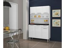 Kit Cozinha Itatiaia Rose com Tampo - 6 Portas 1 Gaveta Aço