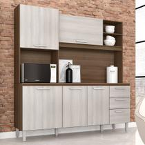 Kit Cozinha Livia Plus Movemax Terraro / Naturale -