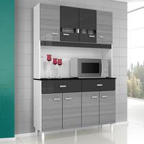 Kit Cozinha Manu Compacta 08 Portas - Poquema -
