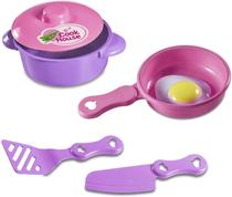 Kit cozinha My little Kitchen, cozinha de brinquedo p/ crianças, pe - Brinquedos