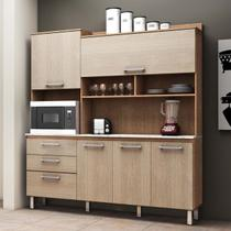 Kit Cozinha Noce Escuro/Noce Claro - Inovare/Batrol -