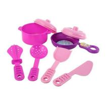 Kit Cozinha Princesas 8 Peças Etitoys Dy-339 - Etilux