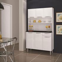 Kit Cozinha Rose 6 Portas 1 Gaveta Itatiaia -