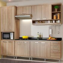 Kit Cozinha Sicília Com Tampo 5809-S5T - Multimóveis -