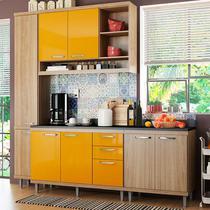 Kit Cozinha - Sicília Com Tampo 5813-S7T - Multimóveis -