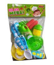 Kit Cozinha Tá Na Mesa 11 Peças Verde - Zoop Toys -