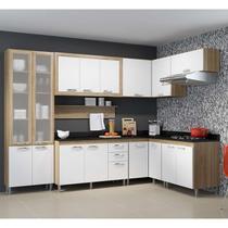 Kit Cozinha Toscana 5715-T8T C/ Tampo e Vidro - Multimóveis -