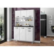 Kit cozinha triplo rubi smart telasul branco -