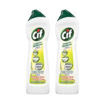 Kit Creme Cif Limpeza Profunda Limao 450ml 2 unidades -