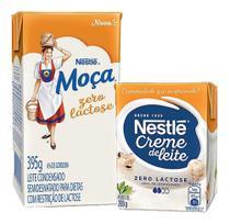 Kit Creme De Leite E Leite Moça Zero Lactose Nestlé -