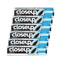 Kit Creme Dental Close Up Triple Hortela 70g 6 unidades -