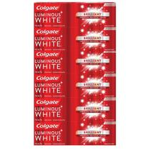 Kit Creme Dental Colgate Luminous White Brilliant 70g com 6 unidades -