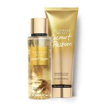 Kit creme hidratante + body splash victoria's secret coconut passion importado original - Victoria secret