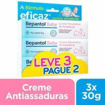 Kit Creme para Assadura Bepantol Baby com 3 Unidades -