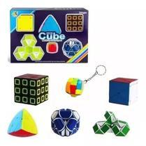 Kit Cubo Magico Series Cube Match Special Porpose Cubo Mania -