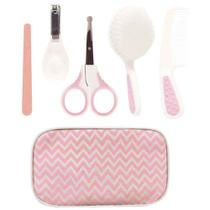 Kit Cuidados Baby Buba com estojo rosa -