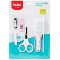 Kit cuidados baby buba - rosa -