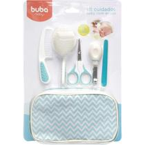 Kit cuidados baby c/ estojo azul 7285 - Buba