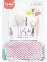 Kit Cuidados Baby com Estojo Rosa Buba - Buba Baby