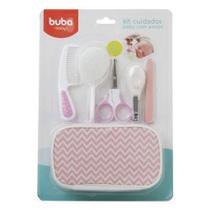 Kit Cuidados Baby Com Estojo Rosa Buba -