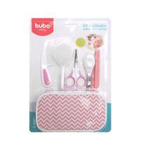 Kit Cuidados Baby com Estojo Rosa - Buba -