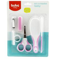 Kit Cuidados Baby Higiene do Bebe Rosa 5239 Buba -