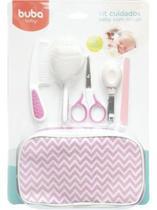 Kit cuidados baby rosa c/ estojo buba -