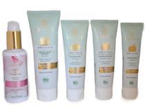 Kit Cuidados Com a Pele do Rosto Limpeza e Hidratação Pele Mista 460g - Irisié